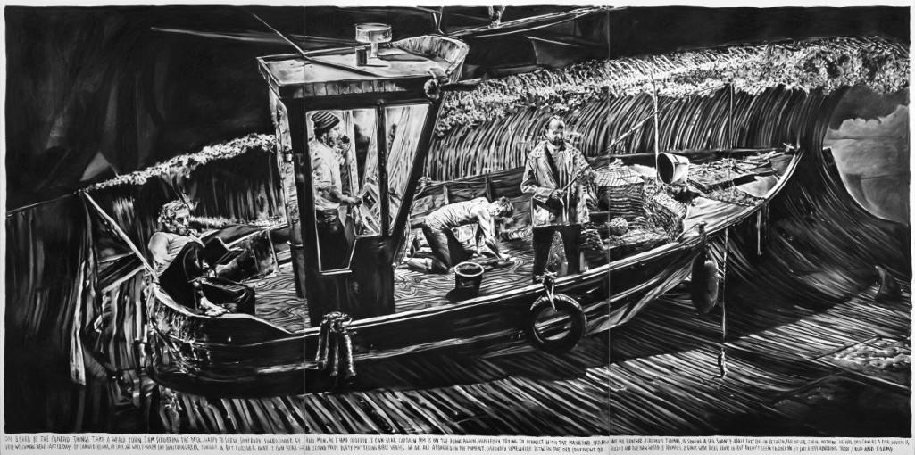 RINUS VAN DE VELDE, 'On board of the Conrad, things take a weird turn.', 2016