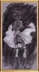 Félicien Rops, La Mort qui danse