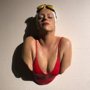 Hyperrealism sculpture @ Tour & Taxis --> 7/11